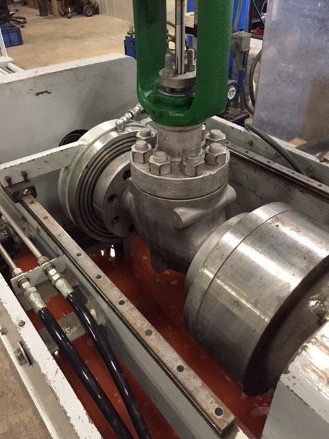 Fisher-control-valve-hydrostatic-seat-leak-testing