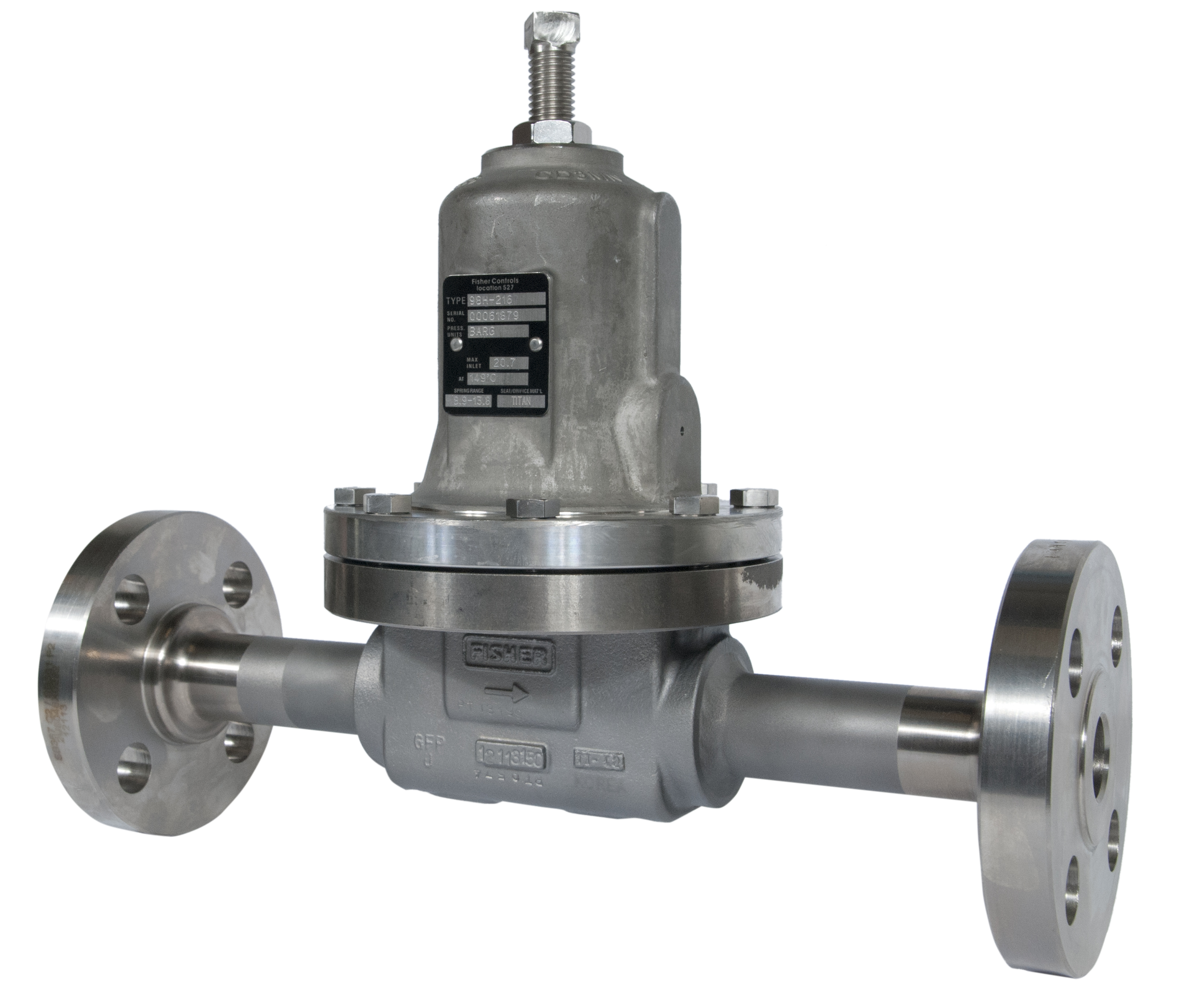 Fisher-98H-Back-Pressure-Relief-Valve
