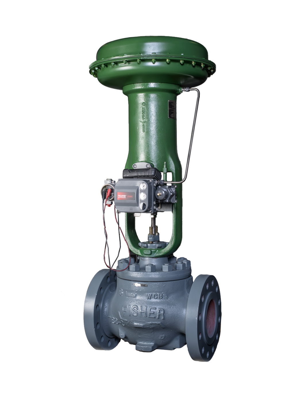 remanufactured-Fisher-ET-control-valve-with-667-actuator-and-dvc6200-valve-positioner (2)