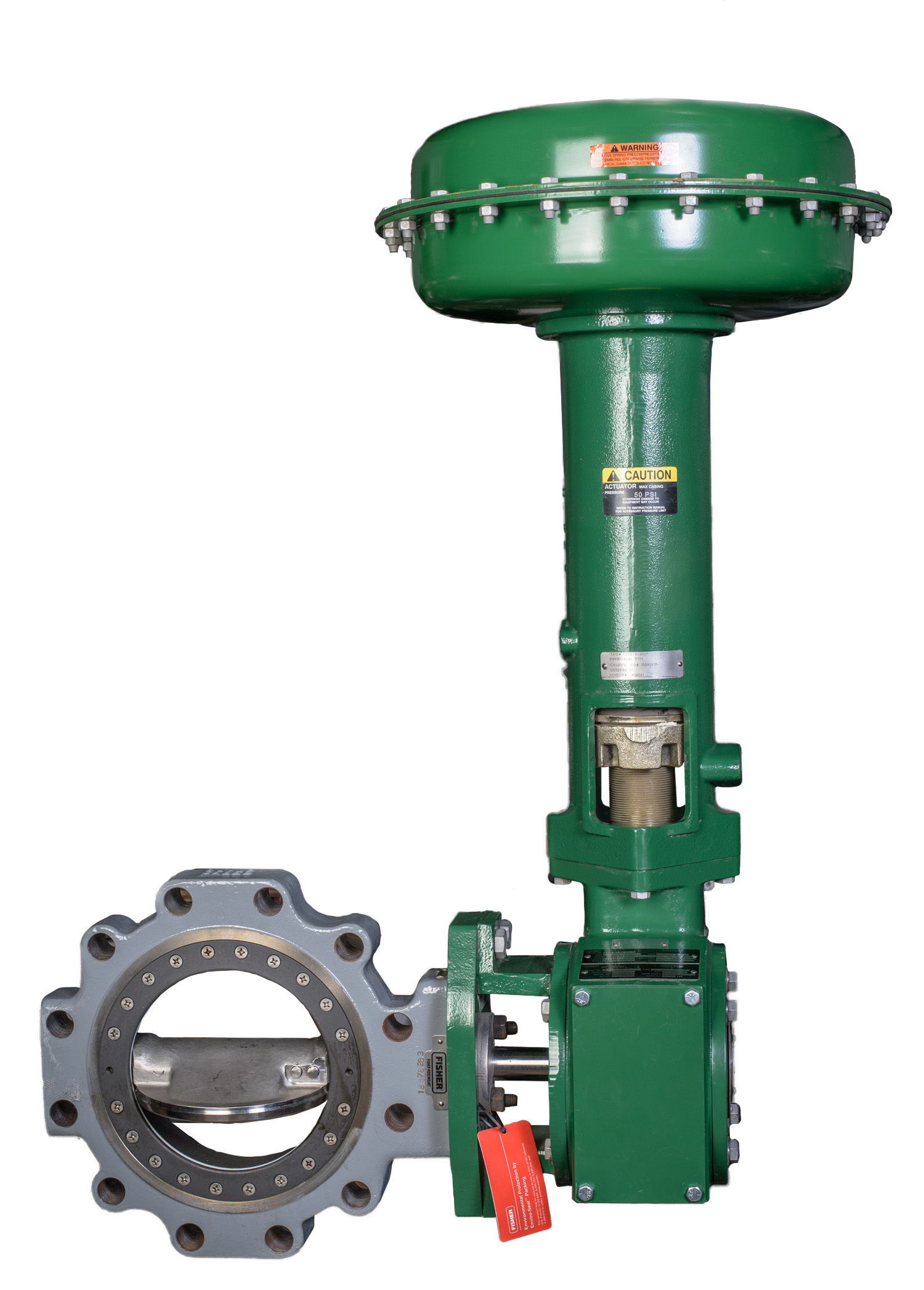 remanufactured-Fisher-8560-high-performance-butterfly-valve