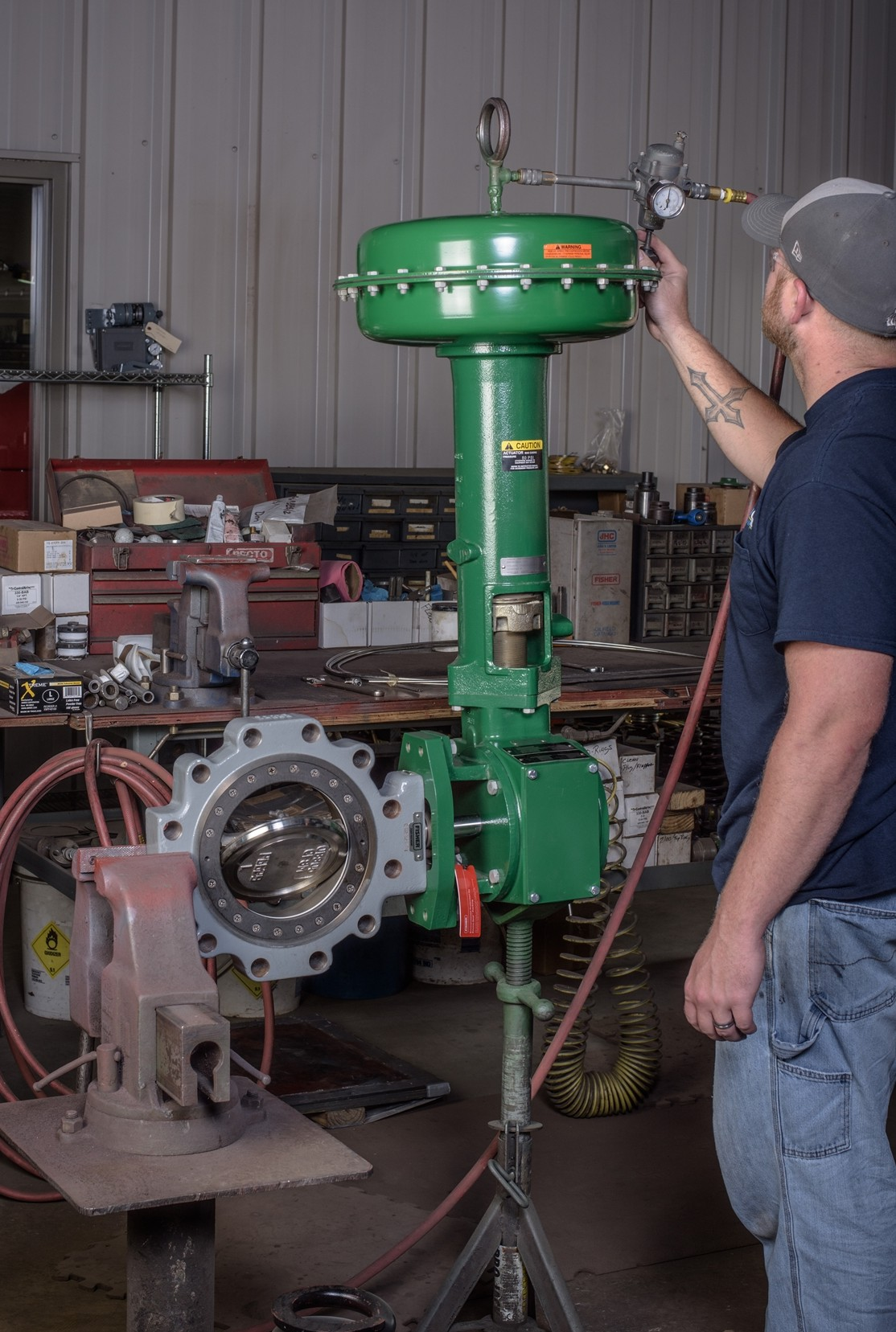FISHER® BUTTERFLY CONTROL VALVES – Flow Control Equipment