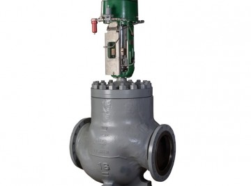 remanufactured-fisher-EUT-16-inch-control-valve-with-585C-actuator(1)