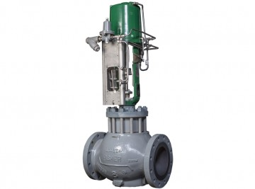 remanufactured-fisher-EWT-control-valve-with-whisper-III-D3-trim-and-585C-actuator(1)