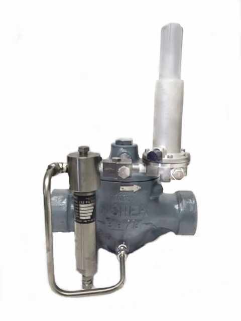 remanufactured-fisher-EZR-pressure-reducing-regulator-with-252-filter-and-pilot-3